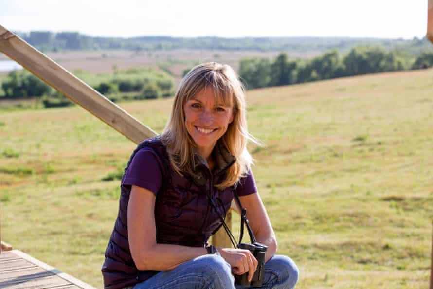 BBC Springwatch presenter Michaela Strachan