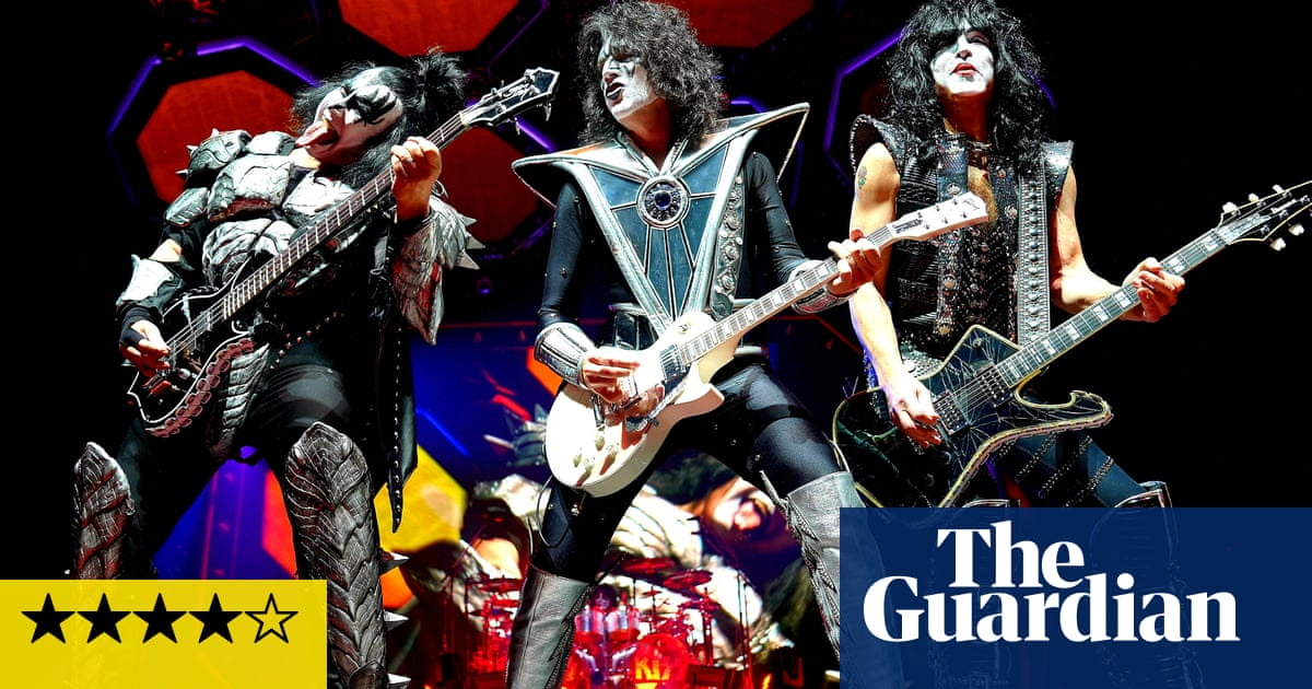 Kiss review – rock's cartoon characters say final farewell