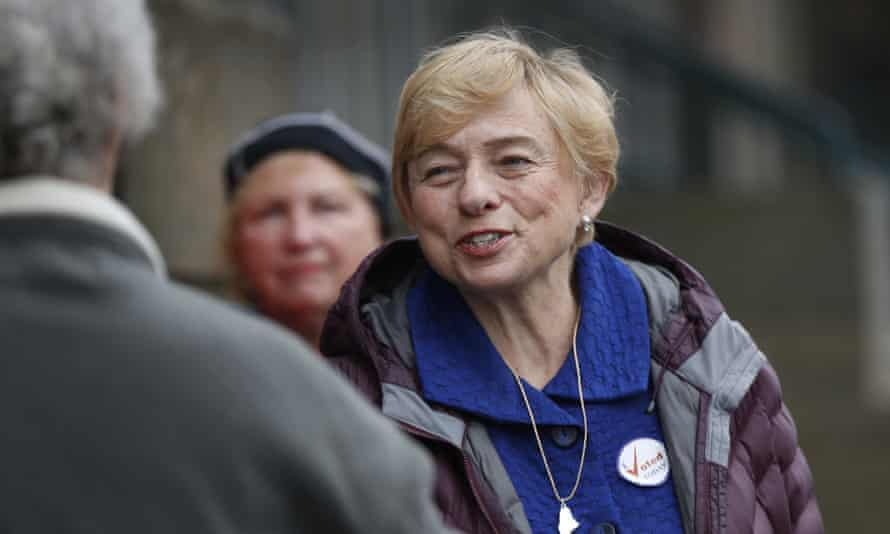 Janet Mills routinely clashed with the Republican governor, Paul LePage.
