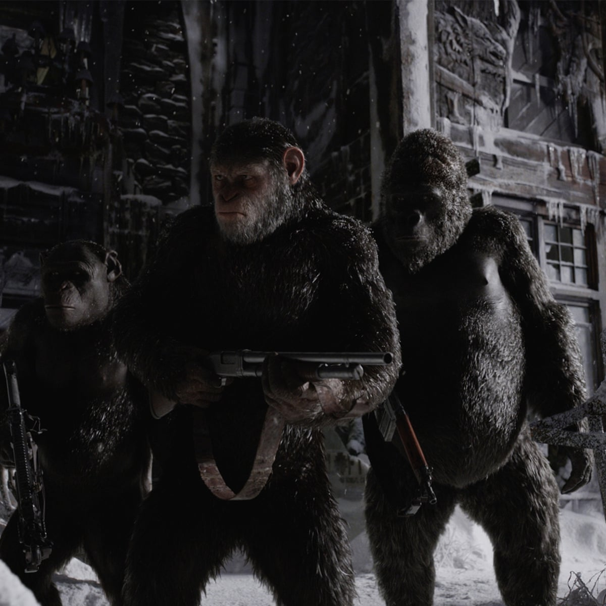 War For The Planet Of The Apes Review It S Simians V Humans In Another Absorbing Episode Film The Guardian