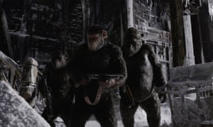 Compellingly strange ... War for the Planet of the Apes.