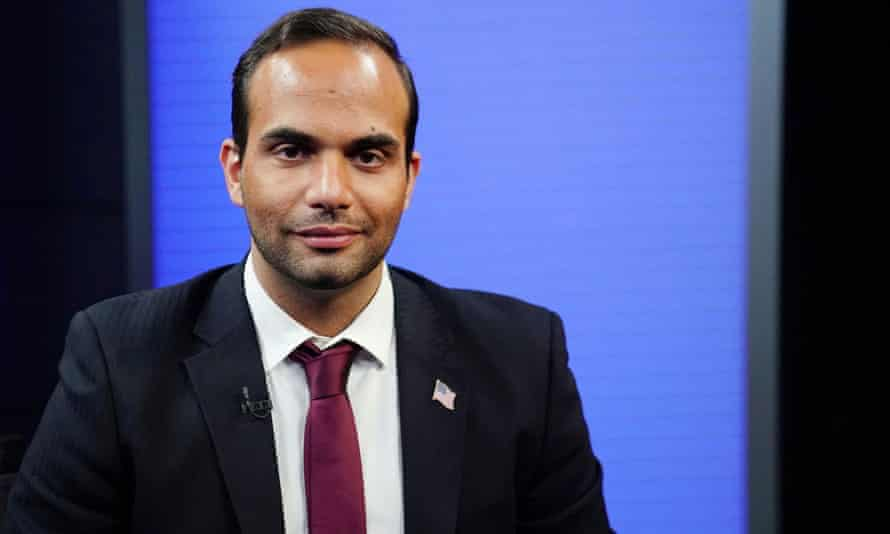 The president pardoned George Papadopoulos, a former aide.