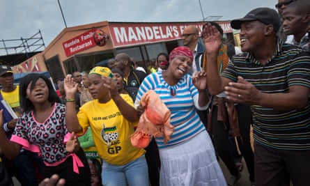 The township of Soweto, Johannesburg