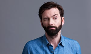 Actor, and now podcaster, David Tennant.