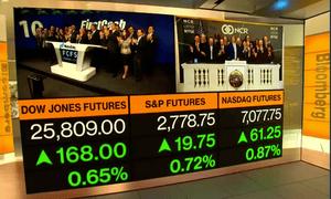 Open of Wall Street