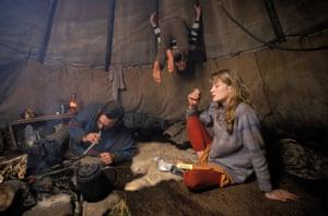 Tipi Valley, Llandeilo, Carmarthenshire, 1980s