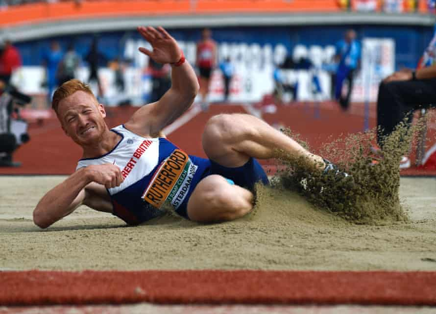 Rutherford in action during his gold medal winning performance at the 2016 European Athletics Championships.