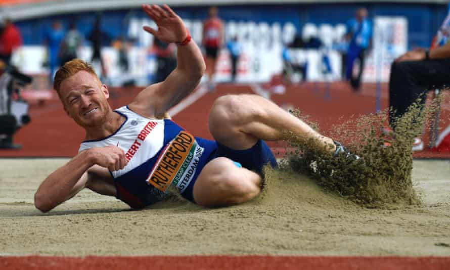 Greg Rutherford during the European Athletics Championships in 2016