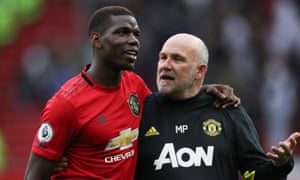 Paul Pogba, seen here with Mike Phelan, is another player who Real Madrid are interested in and could possibly sign before 2 September.