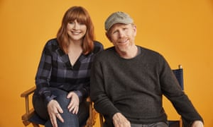 Bryce Dallas Howard and her father Ron Howard in Dads.