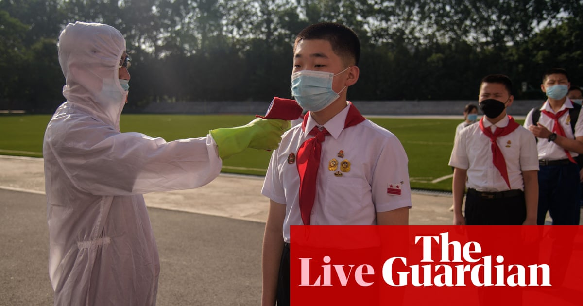Coronavirus live news: North Korea rejects Covax offer; Australia secures vaccine swap with UK