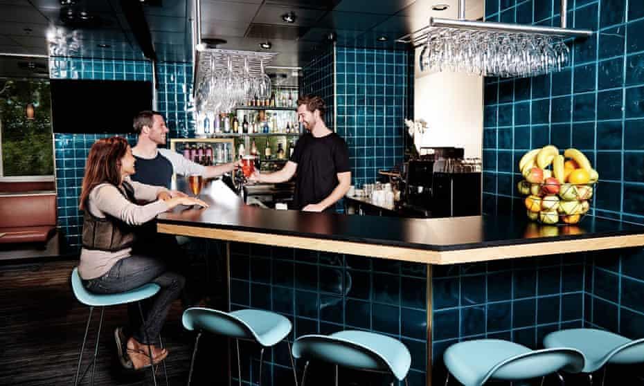 Danhostel Copenhagen Brand new bar with large selection 6