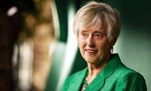 'Who was this woman who's holding a man's job' ... Stella Rimington at the Edinburgh international book festival.