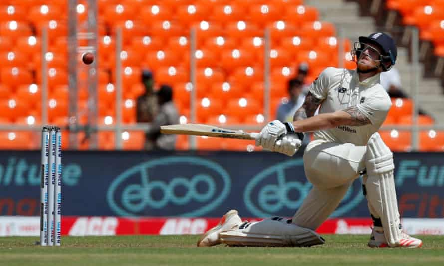 Ben Stokes said he was 'was disappointed with myself' after scoring 55, England's top score in their first innings of 205.