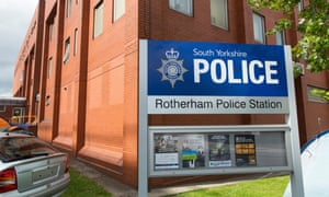 Police station in Rotherham town centre
