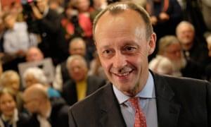 Possible CDU leadership candidate Friedrich Merz.