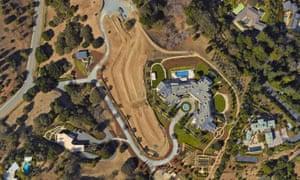 Yuri Milner's Los Altos Hills house, bought for $100m.