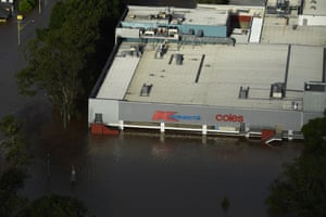 A shopping centre in central Lismore