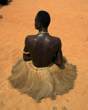 A follower of Kokou, National Vodun festival in Grand-Popo, Bénin 2017 A significant part of the project has been researching the Tchamba vodun religion in West Africa. Tchamba is the name of the spirit of the slaves in both local domestic slavery and the Western trade of African slaves.