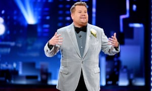 James Corden, the host. For those watching at home, this year's ceremony failed to sparkle.