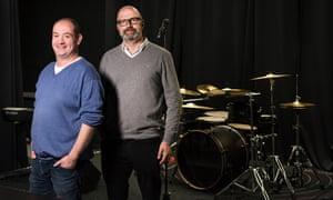 Nick Stillwell (left) and David Court