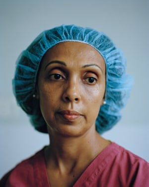 Gina by Lewis Khan'Taken from a series produced during an artist residency at the Chelsea & Westminster hospital, London'