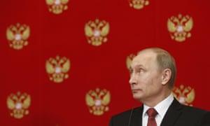 Vladimir Putin. US-Russian relations have been hurt by the conflict in Ukraine.