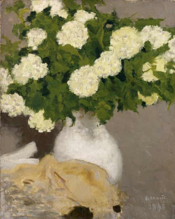Pierre Bonnard – Still Life With Guelder Roses.