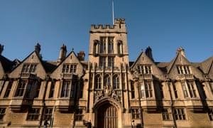 Brasenose College in Oxford
