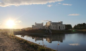 Riverstone Castle, Oamaru, is being built by New Zealander Dot Smith as her dream home.