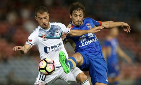 Melbourne Victory hopes hit by goalless stalemate at Newcastle Jets