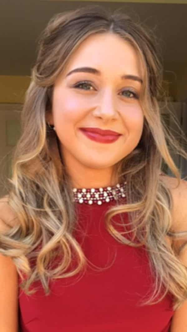 Ellie Gould, 17, was stabbed to death at her home in Calne, Wiltshire.