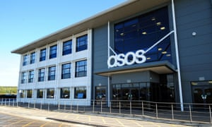 The ASOS distribution centre near Barnsley, South Yorkshire, today