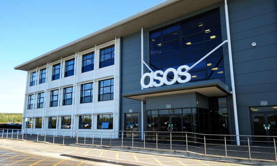 The Asos distribution centre in Barnsley, South Yorkshire.