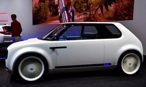 A Honda Urban EV concept car.