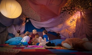 'Bedtime' stories at the Story Museum, Oxford