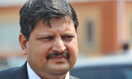 Atul Gupta, pictured in Johannesburg in 2010.