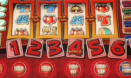 'Every time you play a slot machine it will celebrate with you by flashing bright lights and playing catchy tunes'
