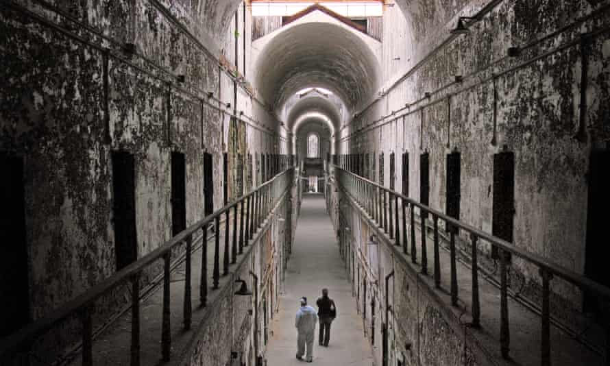 The Eastern State Penitentiary in Philadelphia, which was closed in 1971.