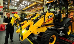 JCB to create 600 jobs as world orders roll in | Business | The Guardian