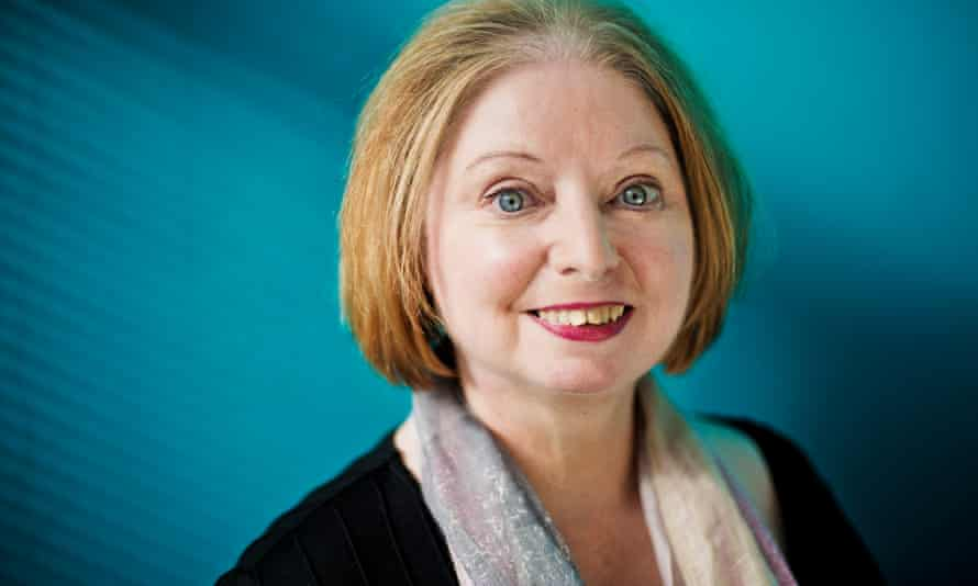 Novelist and two time Booker Prize winner Hilary Mantel.