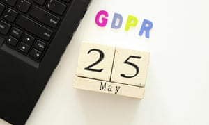 GDPR with date and keyboard