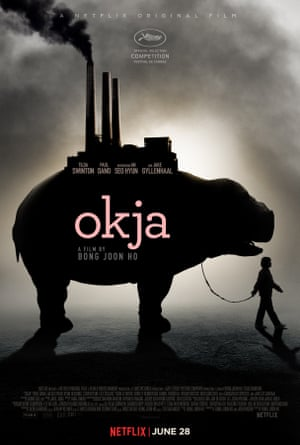 The poster for Okja