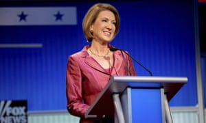 Carly Fiorina on stage for the Fox News pre-debate in August.