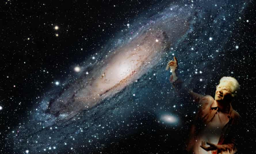 Vera Rubin mapped the motion of stars in spiral galaxies.