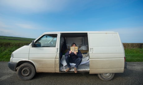 I'm a teacher and I live in the back of a van