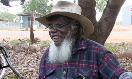 Kepten Wadity at Peppimenarti in the Northern Territory.