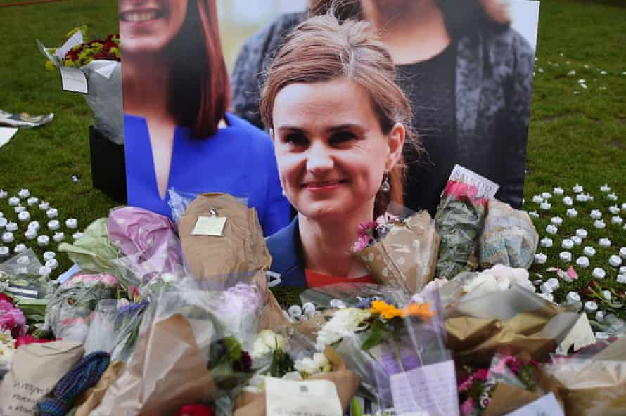 Tributes to the MP Jo Cox after a far-right extremist was found guilty of shooting and stabbing her to death days before the Brexit vote.