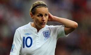 Kelly Smith was the outstanding English female player of her generation