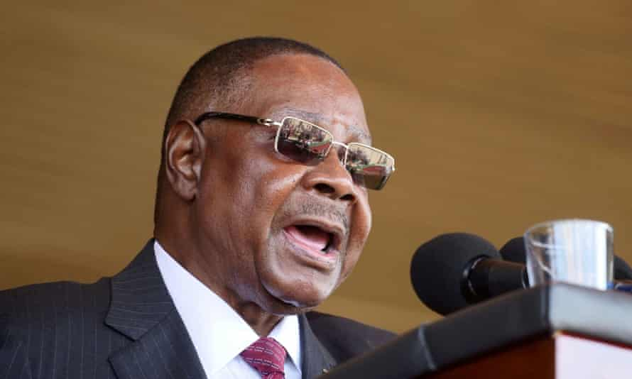 President Peter Mutharika said the rumours of bloodsuckers were part of a 'political strategy' designed to create fear and panic before an election re-run this year.